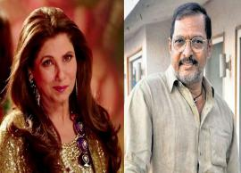 VIDEO- When Dimple Kapadia revealed Nana Patekar's 'dark side' and called him 'obnoxious'