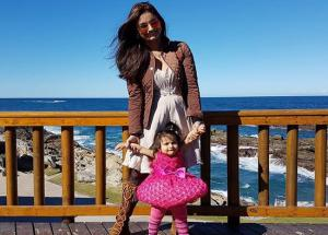 Bigg Boss- Ex BB Contestant Dimpy Ganguly and Her Daughter Are Too Much Adorable