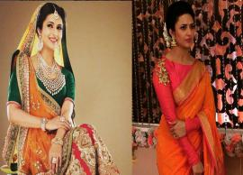 5 Stylish Blouse Designs That You Can Copy From Divyanka Tripathi