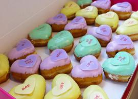 Valentines Day Recipe- Sweet Heart Custard Doughnuts