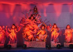 Navratri Special- For the first time there is a theme-based pandal organized in Jaipur.