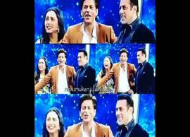 Rani Mukerji joins Karan Arjun stars Shah Rukh Khan and Salman Khan on Dus Ka Dum