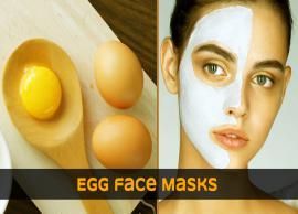 DIY Egg face Masks To Get Healthy Glow