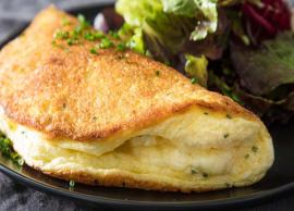 Know How to Cook Delectable Egg Omelette  with variations