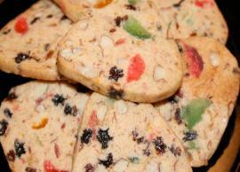Recipe- Hard to Resist Eggless Dry Fruit Cookies