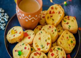 Recipe - Amazing Tea Time Snacks are Eggless Tutti Frutti Cookies