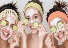 DIY Aloe Vera and Cucumber Face Mask That Works Like Miracle