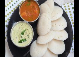 Navratri 2019- Make Your Fast Yummy WIth Falahari Idli Sambar