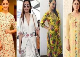 5 Floral Kurtas You Can Flaunt This Summer