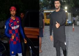 PICS- Ranbir Kapoor and Arjun Kapoor sweat it out on football field-Photo Gallery