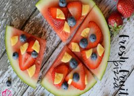 Recipe- Fresh Fruit Pizza For Kids