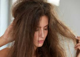 8 Effective Home Remedies To Control Frizzy Hair