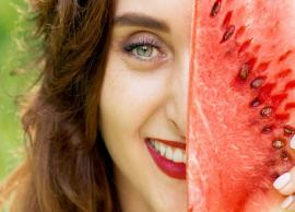 5 Steps To Do Fruit Facial At Home Using Watermelon