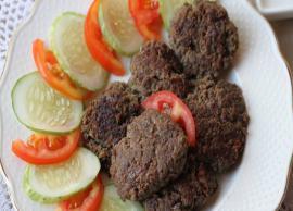 Recipe- Lucknow Special Galouti Kebab