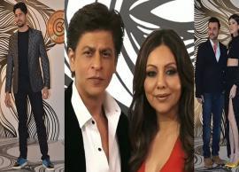 PICS- Shah Rukh Khan steals limelight at Gauri Khan's star-studded bash