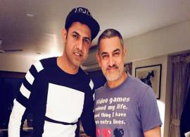 Singer Gippy Grewal Gave a Special Gift To Aamir Khan