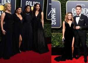 PICS- Golden Globe 2018 Was All About a Movement and not Fashion
