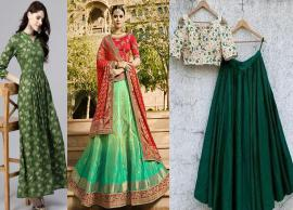5 Ways To Wear Green This Wedding Season-Photo Gallery