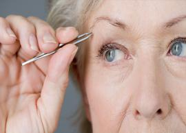 5 Reasons For Grey Hair in Eyebrows