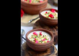 Recipe- Delicious Dessert Gulab Phirni For Sweet Tooth