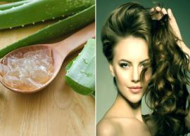 10 Different Ways To Use Aloe Vera Gel For Quick Hair Growth
