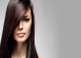 5 Natural Remedies For Hair Smoothening at Home