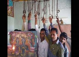 Temple Where Handcuff are Offered to God