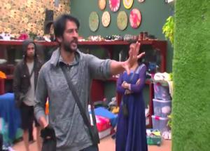 VIDEO Bigg Boss 11- Hiten Tejwani Losses His Cool, Pushes Luv in Anger