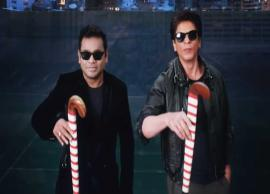 VIDEO- Teaser of Hockey Men's World Cup title song featuring AR Rahman, Shah Rukh Khan out
