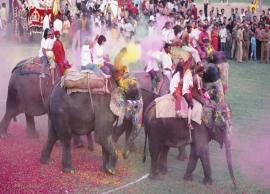 Here is How Holi is Celebrated in Jaipur, Rajasthan