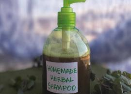 Home Made Herbal Hair Shampoo For Healthy Hair