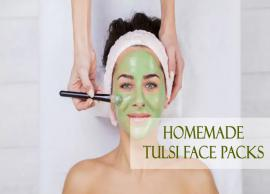 5 Homemade Tulsi Face Packs To Get Problem Free Skin