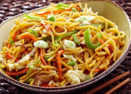 Recipe- Turn On The Mood With Mouthwatering Honey Chilli Noodles