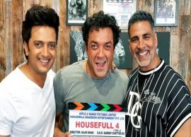 "Akshay Kumar starts shooting for ""Housefull 4"""
