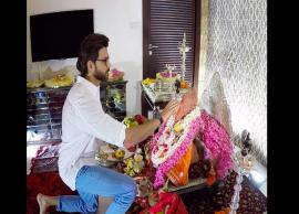 Ganesh Chaturthi 2018- Hrithik Roshan welcomed Lord Ganesha at his home