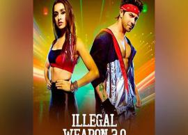 VIDEO- Shraddha Kapoor, Varun Dhawan gear up for dance face-off in 'Illegal Weapon 2.0'