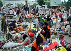 Indonesia quake-Tsunami death toll jumps to 384, many being treated in open air