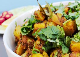 Summer Recipe- Quick To Make Instant Pot Achari Aloo