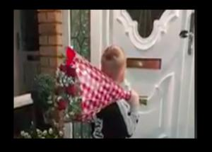 VIRAL- The Little Boy Delivery Flowers Will Win Your Heart