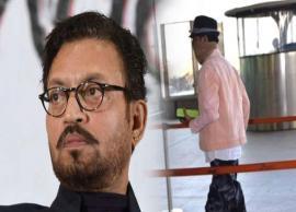 कैंसर से जूझ रहे इरफान खान लौटे भारत, 8 महीने बाद मुंबई एयरपोर्ट पर आए नजर -Photo Gallery