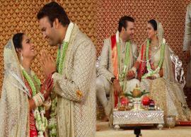 Isha Ambani-Anand Piramal Wedding: हाथ जोड़कर आनंद पीरामल ने किया दुल्हन ईशा का स्वागत, देखे तस्वीरें-Photo Gallery