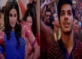DHADAK Song- Hindi Version of Much Hyped Zingaat is Total Disappointment