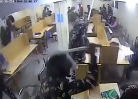 Jamia CCTV footage reveals police thrashing students inside library during December 15 protest