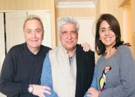 After Alia Bhatt, Javed Akhtar visits ailing Rishi Kapoor in New York