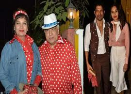 PICS- Javed Akhtar Celebrates His 75th Birthday With Retro Themed Party