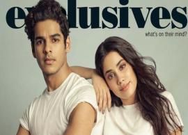 PICS- Janhvi Kapoor-Ishaan Khatter burn it up in latest photoshoot