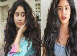 PICS- Janhvi Kapoor's first magazine cover with Vogue is out-Photo Gallery