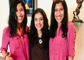 Kajol shares a happy picture with Everest twins Tashi and Nungshi Malik