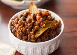 Recipe- Delicious Kala Chana Masala
