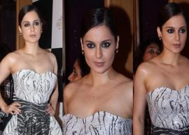 PICS- Kangana Ranaut Look Stunning in Toni Maticevski Monochrome Outfit-Photo Gallery